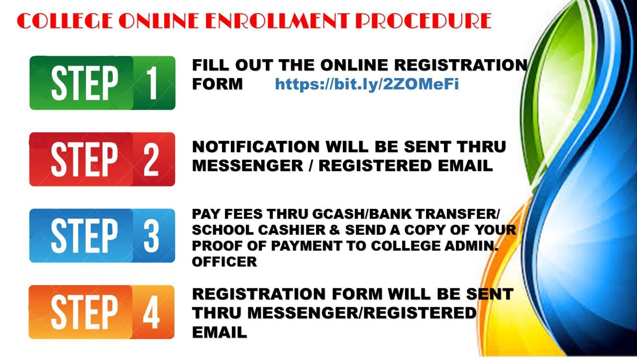 College Online Enrollment Procedure